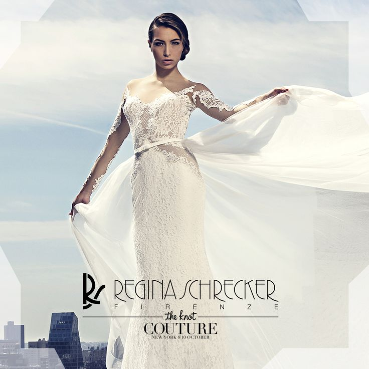 "We have the pleasure to inform you... Even this year ""Regina Schrecker Sposa"", will participate at the International Fair ""The Knot Couture Show"", to be held in #NewYork from 8 to 10 October 2016. More info: http://coutureshow.com"