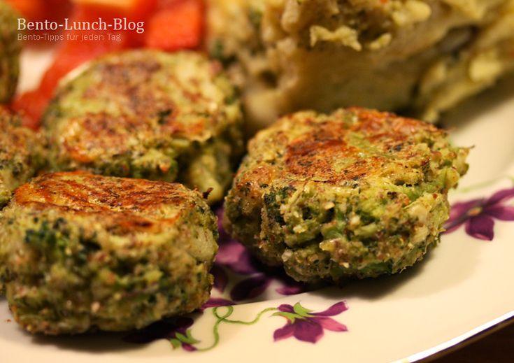 Bento Lunch Blog: Rezept: Brokkoli-Parmesan-Mandel-Bällchen