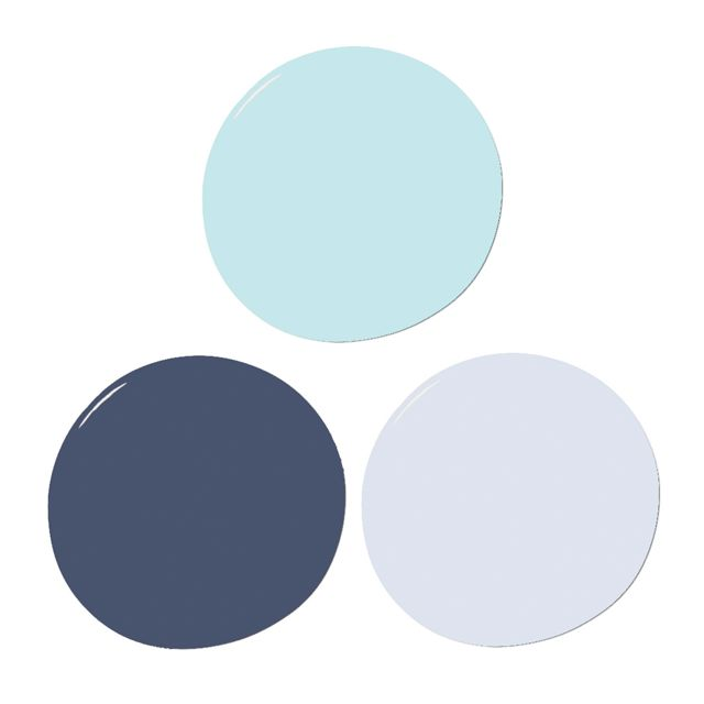 Blues Sample Paint Set  - The Project Nursery Shop