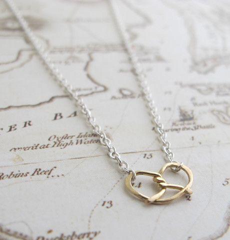 Pretzel Necklace / Erica Weiner