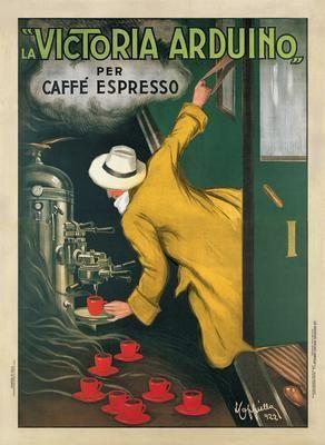 Victoria Arduino, 1922 poster print by Leonetto Cappiello