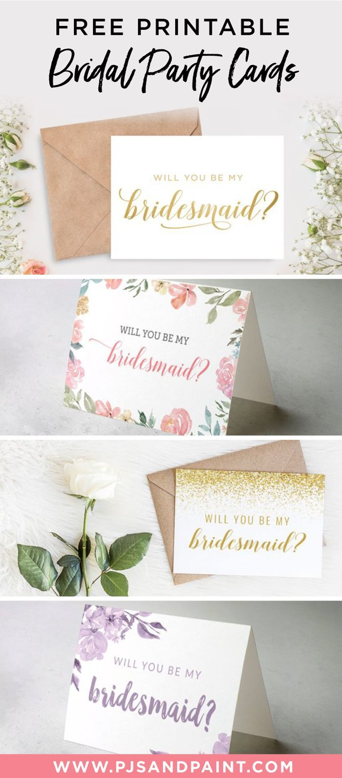 Free Printable Will You Be My Bridesmaid Cards Bridesmaid Invitation Card Will You Be My Bridesmaid Gifts Free Wedding Printables