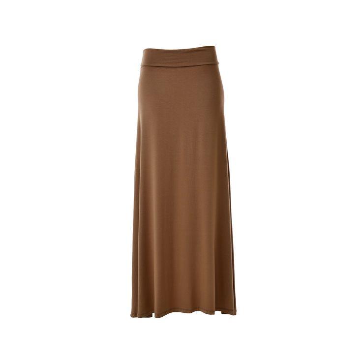Falda Larga Algodón, Priscila Corvetto, $25.990. Pollera larga, es perfecta para combinarse con un blusón junto con un cinturón que englobe la pa...