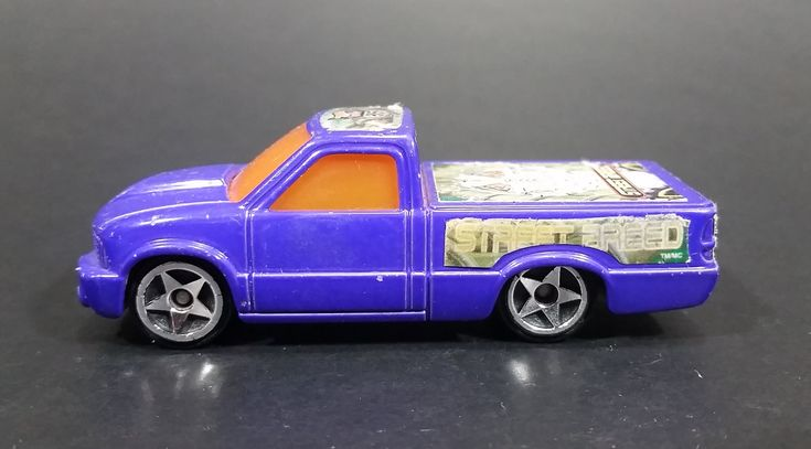 2003 Hot Wheels Street Breed Street Truck Purple Die Cast Toy Vehicle McDonalds Happy Meal https://treasurevalleyantiques.com/products/2003-hot-wheels-street-breed-street-truck-purple-die-cast-toy-vehicle-mcdonalds-happy-meal #2000s #HotWheels #StreetBreed #StreetTruck #WorldRace #McDonalds #HappyMeal #Toys #Cars #Trucks #Vehicles #Autos #Automobiles #Collectibles