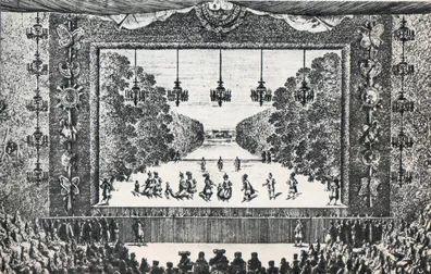 Les plaisirs de l'île enchantée dans le parc de Versailles:la princesse d'Elide de Molière. - 48) CLASSICISME, LA POESIE EN GENERAL: On voit renaître les épigrammes, comme celles de Martial ou d'Ovide, les épîtres ou les satires du style d'Horace (notamment par Boileau). L'on assiste aussi à la renaissance de l'épopée de type Homérique ou Virgilienne. Mais ce genre ne connaît aucun succès. Voire notamment La Pucelle de Chapelain, décriée par Racine et Boileau.