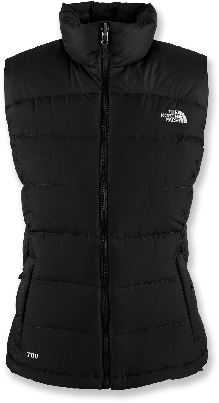 The North Face Nuptse 2 down vest, designed just for women, delivers plush core warmth during harsh winter weather.