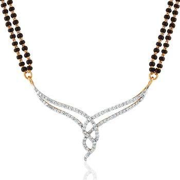 Modish Diamond Mangalsutra
