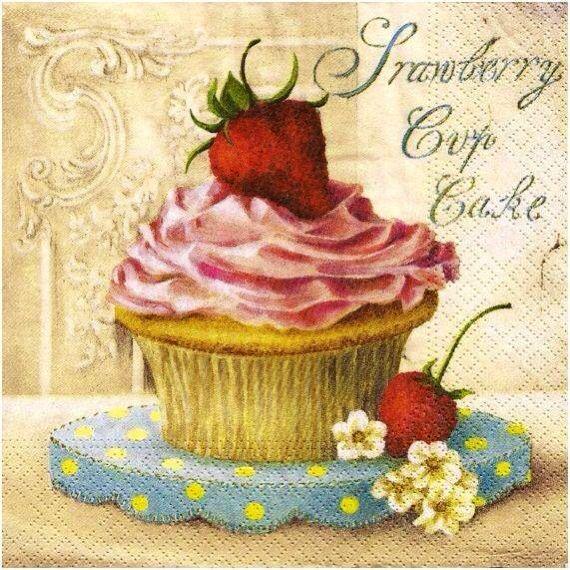Cupcake morango