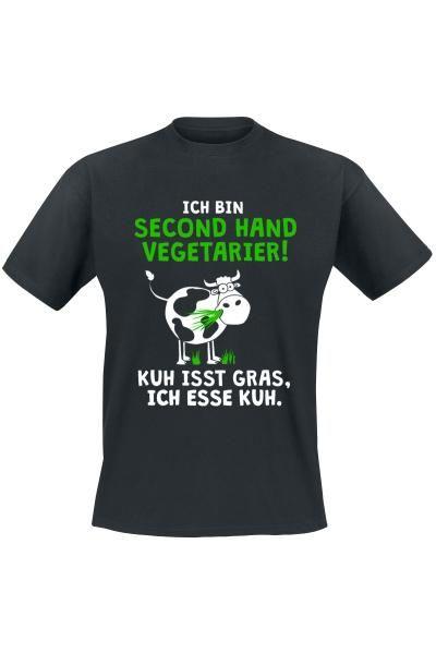 Second Hand Vegetarier!, Ich bin Second Hand Vegetarier! Kuh isst Grass, ich esse Kuh.