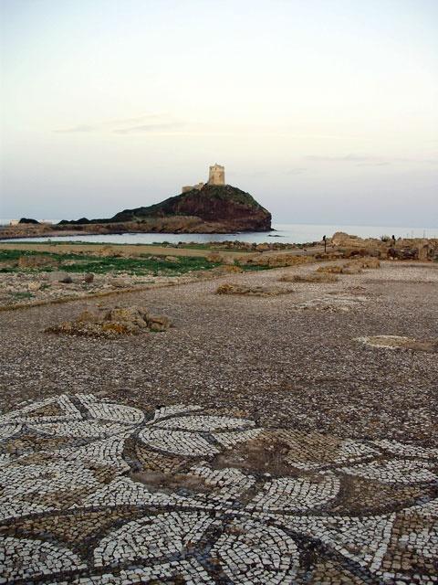 Nora è un'antica città di fondazione nuragica e successivamente punica, capitale del popolo dei Noritani. È situata sul promontorio di Capo Pula, sulla costa meridionale della Sardegna ad ovest di Cagliari, attualmente nel comune di Pula.
