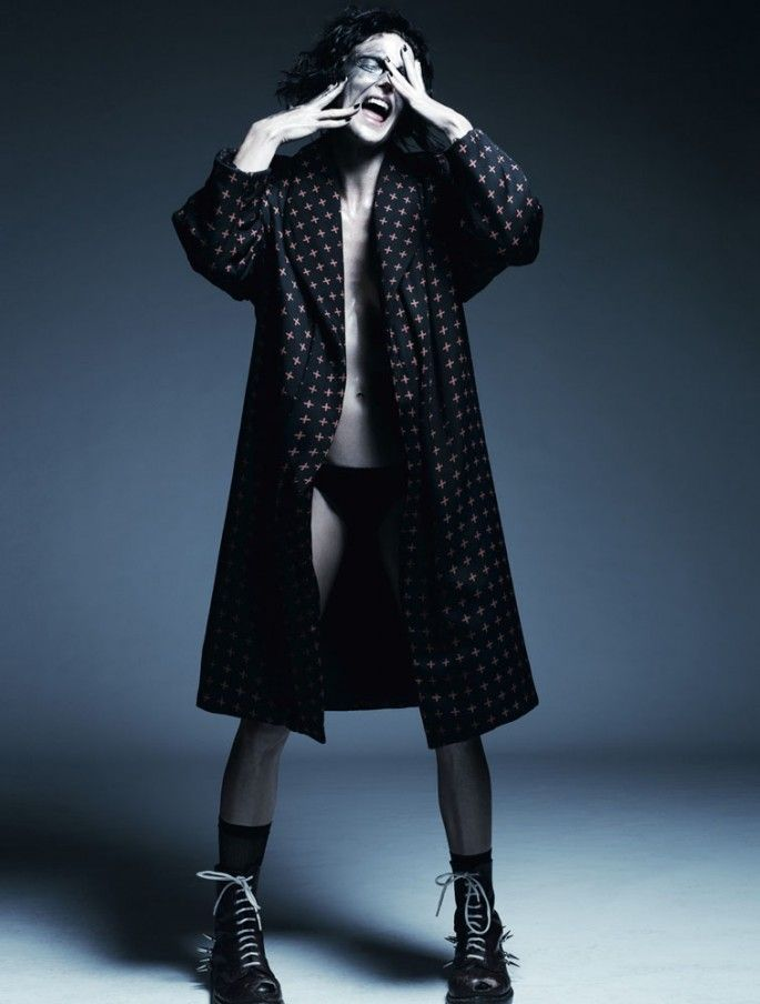 """Pop Goes the World"" | Model: Shannon Click, Photographer: Gregory Harris, Dazed & Confused, September 2012"