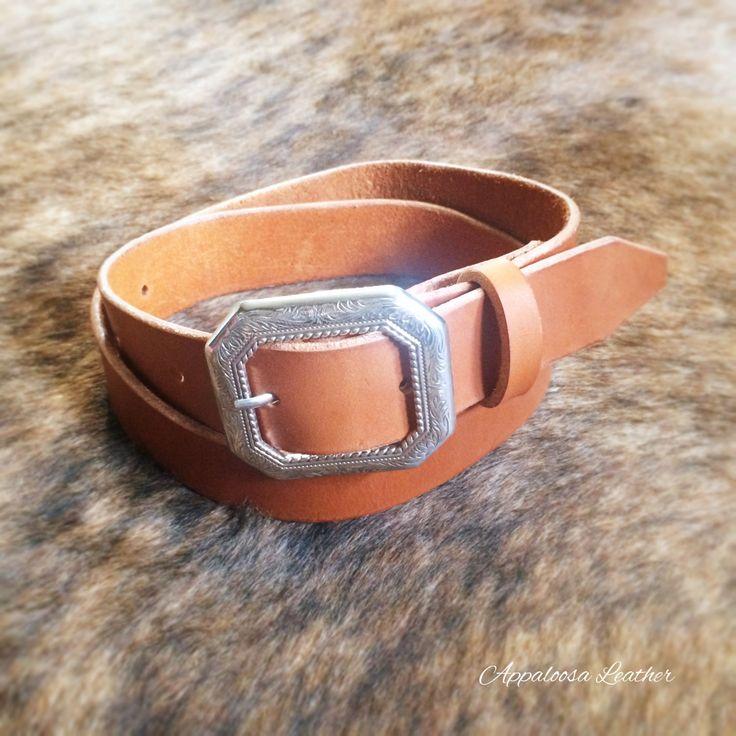 Tan Brown Leather Belt - Womens Leather Belt Mens Leather Belt Custom Leather Belt-Simple Leather Belt-Tan Leather Belt-Unisex Belt Western (59.00 CAD) by AppaloosaLeather