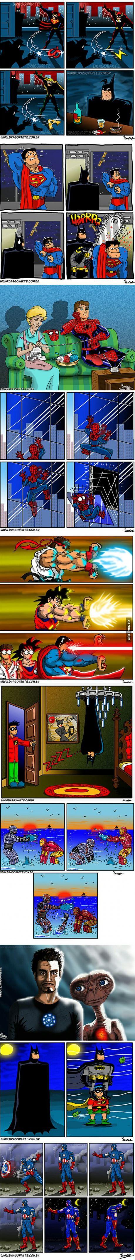 These Dragonarte Superhero Comics Wil Make you Laugh Hard