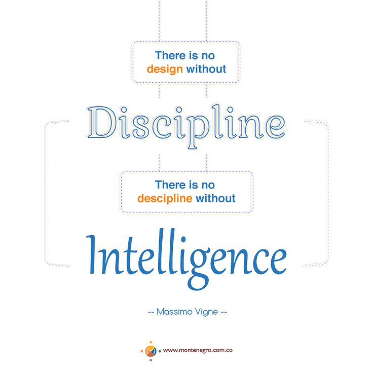 """There is no design without discipline. There is no discipline without intelligence"". - Massimo Vignel -."