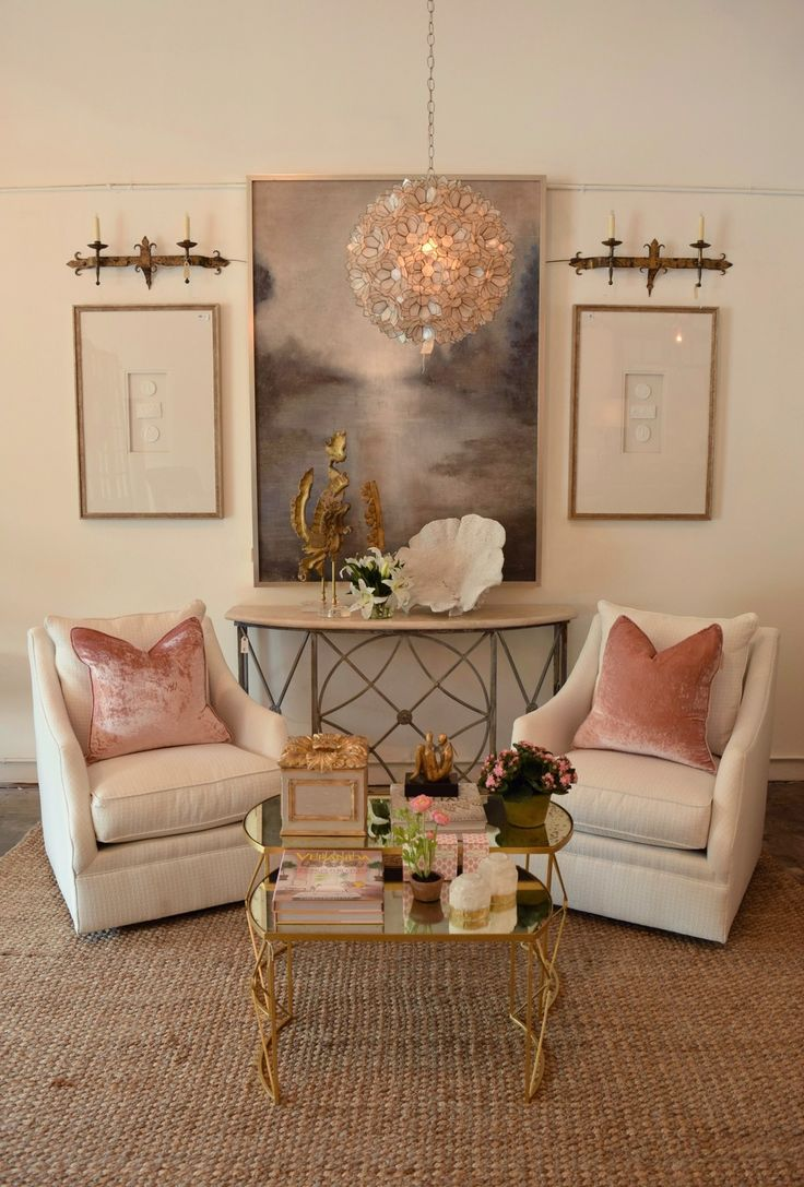 Blush Pink is popping up more and more. It seems like every new magazine we  look through, or every time we open Pintrest we are seeing this awesome  color, and it has us so inspired.   When we came across these blush pink pillows we new we had to design an  entire vignette around them, they are that pretty!  As you may have noticed we have gone through a complete website overhaul,  and expanded our online store. It is still a work in progress but we are so  proud of it and excited to be…
