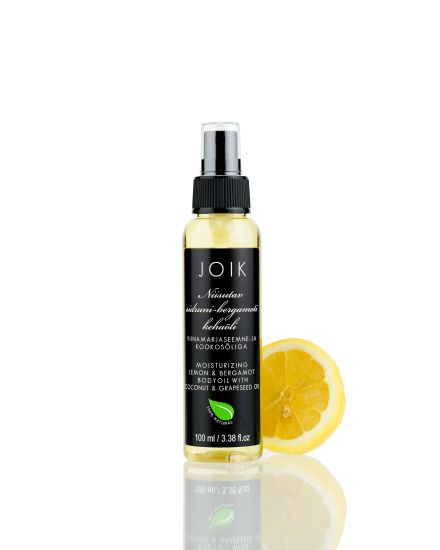 Moisturizing body oil with lemon and bergamot essential oils nurtures and moisturizes. Blend of grape seed oil, coconut oil and sunflower oil forms a delicate protective barrier on the skin that he…