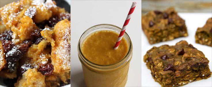 37 Healthy Pumpkin Recipes You'll Want to Make Way Before Fall
