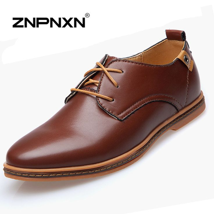 Better Annie Vintage Design Men's Fashion Print Plus Size Patent Leather Business Dress Shoes Mens Casual Lace-up Flats EUR Size 38-48