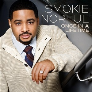 Smokie Norful's Once In A Lifetime album cover