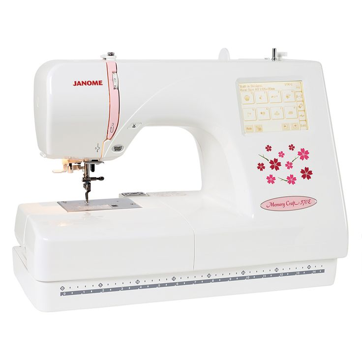 The Janome MC370E is an embroidery only model - for more info please visit our website at www.janome.com.au
