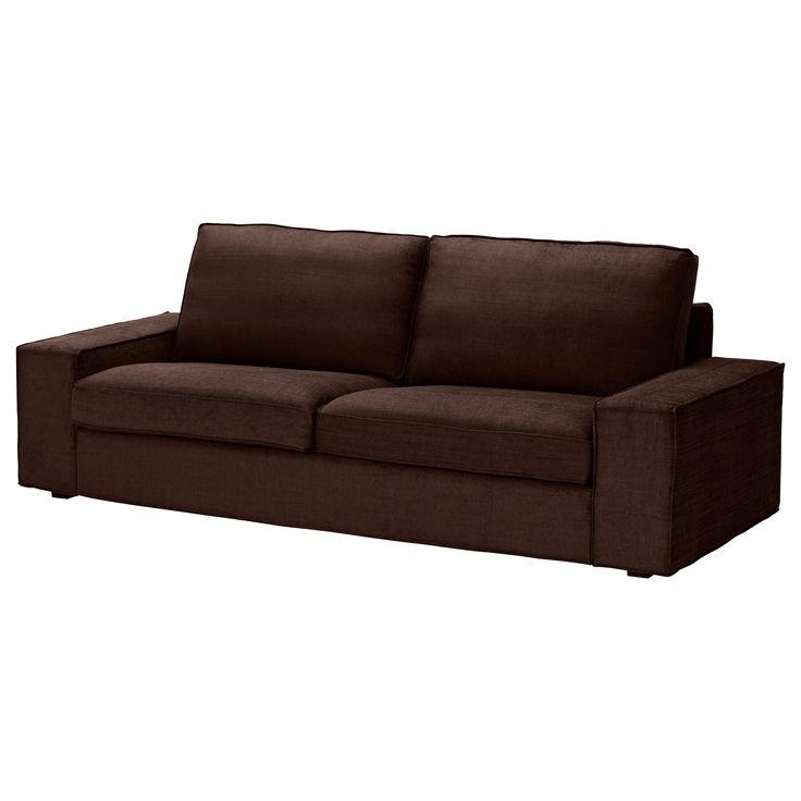 KIVIK Divano a 3 posti - Tullinge marrone scuro - IKEA