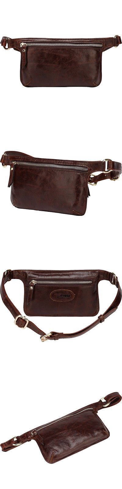 Fanny Waist Packs 169298: Vicenzo Leather Mibel Distressed Leather Waist Waist Pack New -> BUY IT NOW ONLY: $64.99 on eBay!