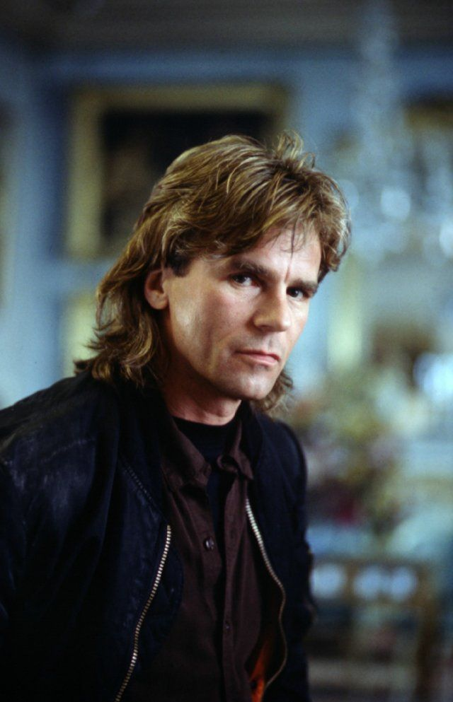 Richard Dean Anderson: MacGyver. I don't even mind the mullet!