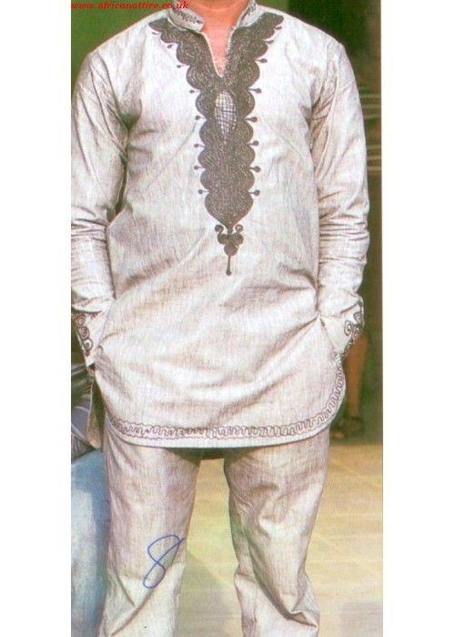 African men's wedding attire