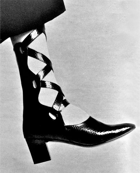 TheHistorialist: 1970 | [NOT] GENUINE LEATHER | DU PONT'S CORFAM AS SEEN BY ANDREA PFISTER AND ROGER VIVIER