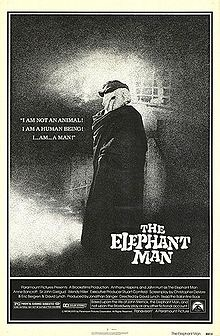The Elephant Man is a 1980 American drama film based on the true story of Joseph Merrick (called John Merrick in the film), a severely deformed man in 19th century London. The film was directed by David Lynch and stars John Hurt, Anthony Hopkins, Anne Bancroft, John Gielgud, Wendy Hiller, Michael Elphick, Hannah Gordon, and Freddie Jones.