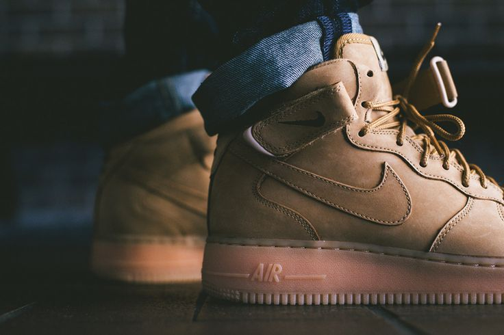 "Nike Air Force 1 Mid ""Wheat"""