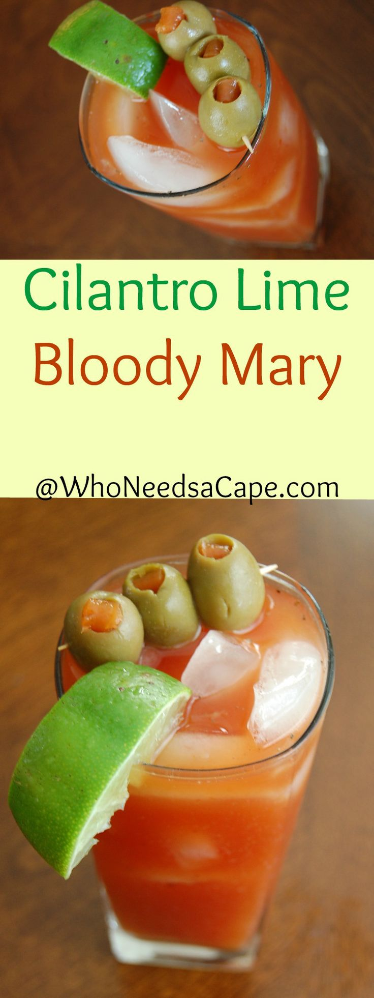 Cilantro Lime Bloody Mary Perfect for the summer Bloody Mary!
