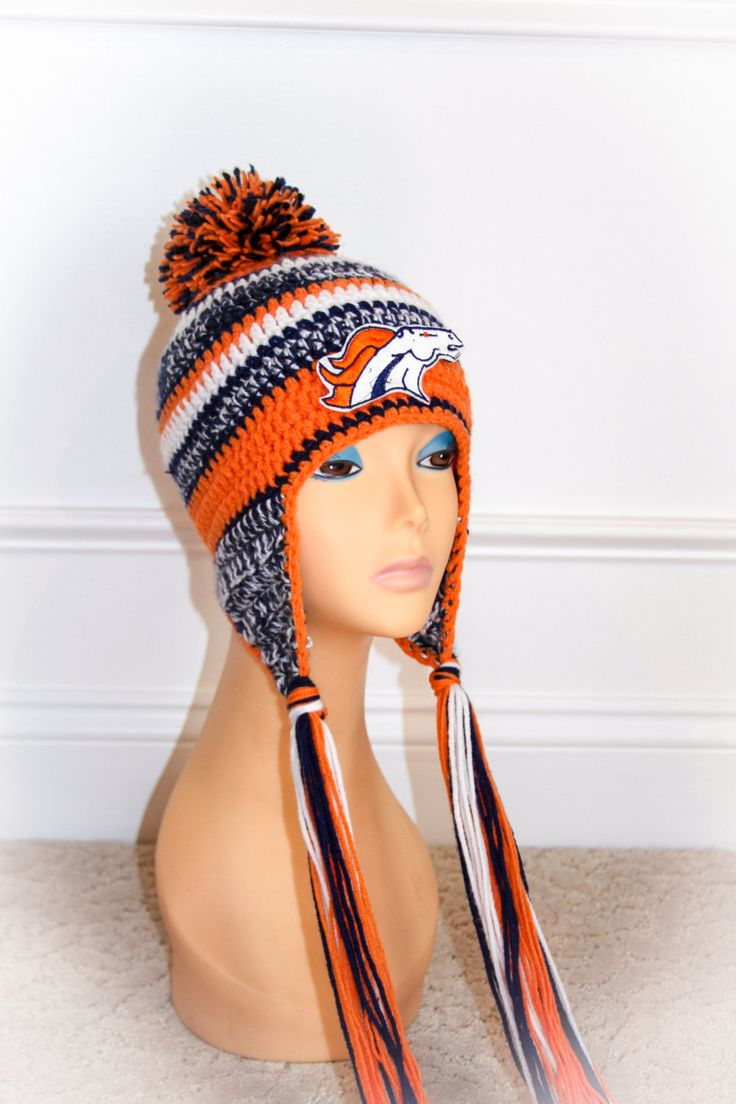"Denver Bronco's NFL official on the field New Era ""Inspired"" crochet hat pattern"