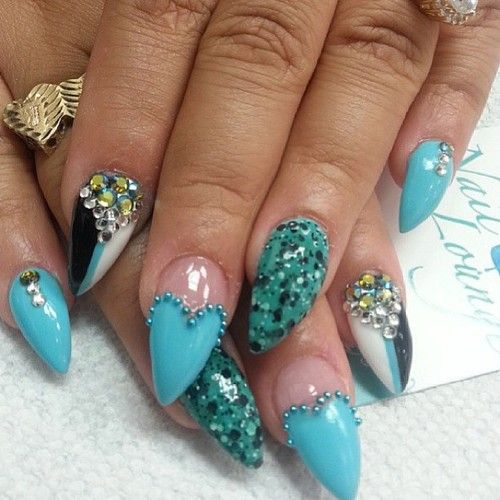 Good morning by @maite_naillounge2 #nails #nailart #nailartist #naillounge