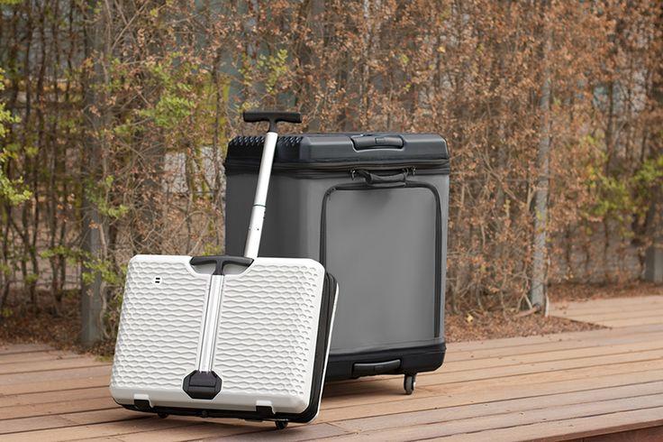 Fugu Luggage aims to solve travelers' problems by bringing forth inventions designed to save money and time in the most user friendly way possible.