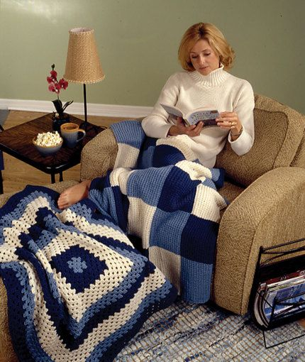 1000 Images About Blankets Knit Amp Crochet Free