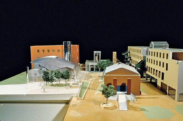 Frank Gehry Loyola Law School Model, Los Angeles, California, 1978-2003