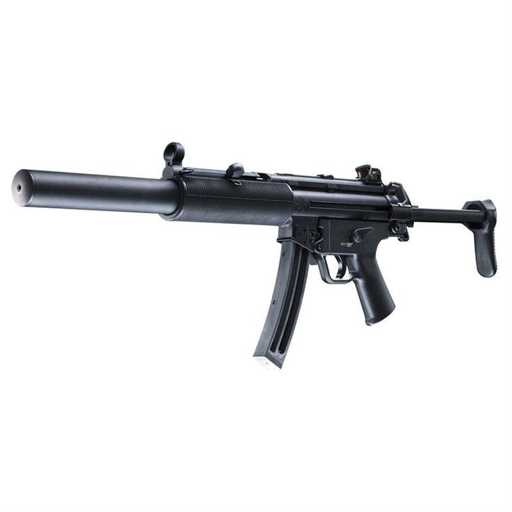 Walther HK MP5 A5, Semi-automatic, .22LR, Rimfire, 5780310, 723364201080