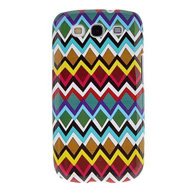 Colorful Waving Triangolo modello di protezione dura della copertura posteriore Custodia per Samsung Galaxy S3 I9300 – EUR € 2.87