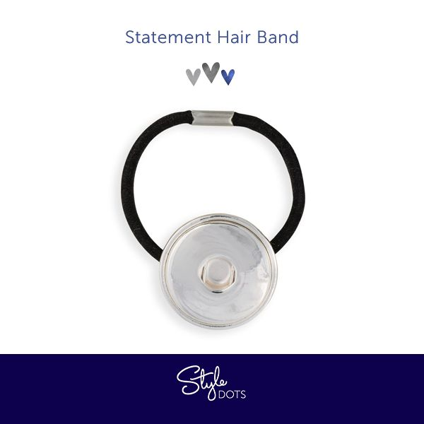 Our Statement Hairband - wear it with one of our Statement Dots. #styledots