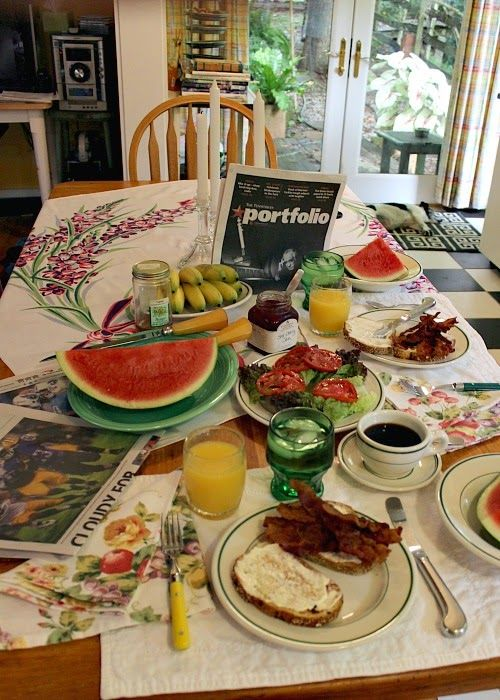 36 best images about the breakfast table on pinterest for Table 52 sunday brunch