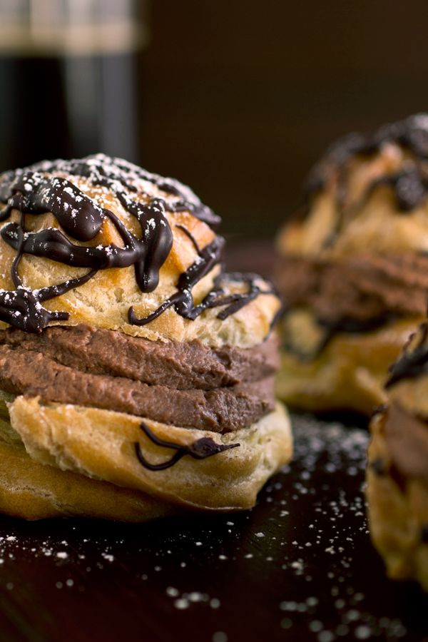 Big and Dreamy, Double Chocolate Cream Puffs