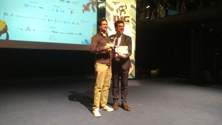 The Deadly Tower of Monsters wins best Latin American game at BIG Festival in Brazil. We're honored! Edmundo Bordeu receives the award.   #TheDeadlyTowerOfMonsters #ACETeam #VideoGames #VideoGame #Gaming #GameDev #IndieDev #IndieGames #IndieGame #PCGames #PCGame #Steam #PlayStation4 #PS4 #ActionGames #Atlus #AtlusUSA #AtlusGames #SciFi #ScienceFiction #BMovie #GOTY #GameAwards #BIGFestival #BIGFestival2017