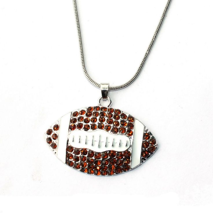 American Football Necklace