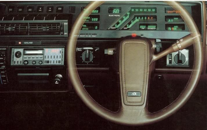 Holden Commodore VK Dash