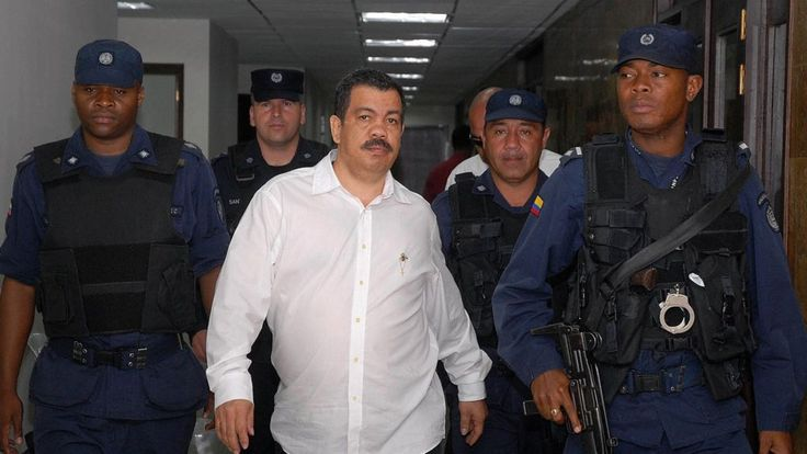 Colombian ex-paramilitary leader says his brother shot drug lord Pablo Escobar.