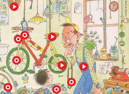 Interactieve praatplaat: de fiets