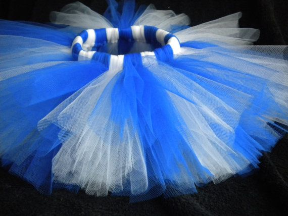 17a67e34a9 Blue White Tutu, Royal Blue and White Tutu, Blue Tutu, White Tutu, Infant  Tutu, Baby Girl Tutu, Toddler Tutu, Football Fan Tutu, Cake Smash | Did you  ...