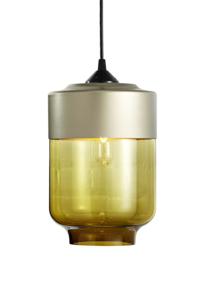 Buy Parallel Series Canister by Hennepin Made - Made-to-Order designer Pendants from Dering Hall's collection of Contemporary Industrial Transitional Lighting.