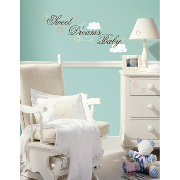 Modern Baby Wall Stickers